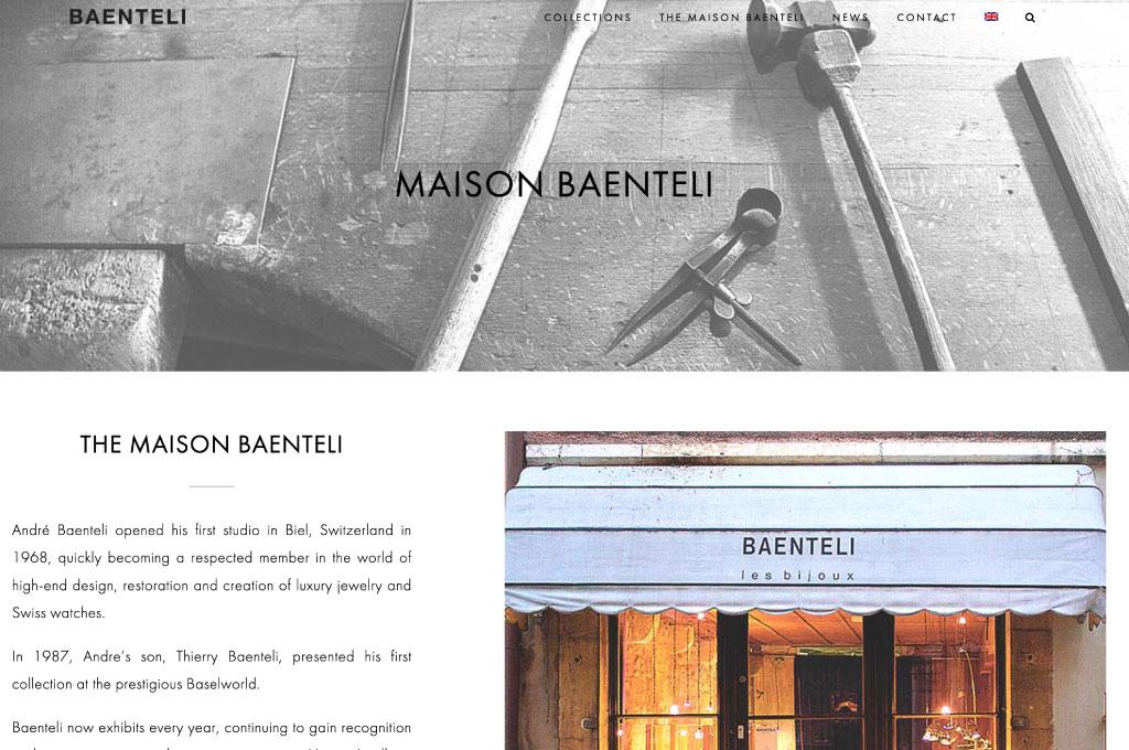 OGO-Studio - Web Design Thailand Bangkok Hua Hin - Projects - Baenteli-Jewelry-feat