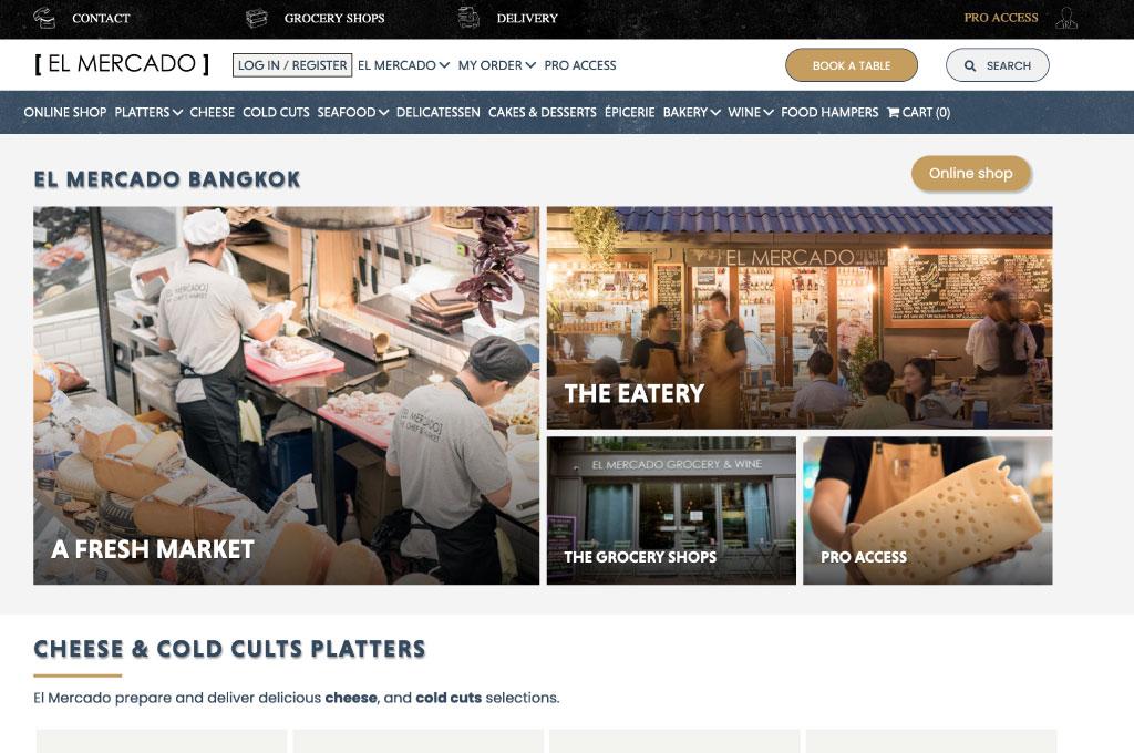OGO-Studio - Web Design Thailand Bangkok Hua Hin - Projects - El-Mercado-feat