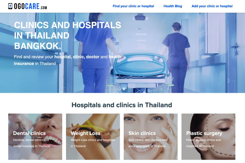 OGO-Studio - Web Design Thailand Bangkok Hua Hin - Projects - Ogocare-feat