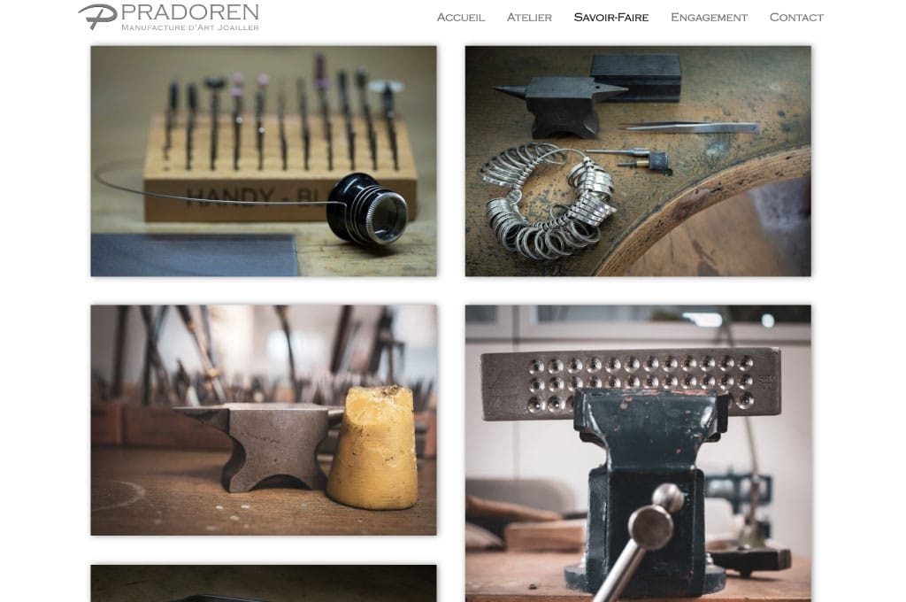 OGO-Studio - Web Design Thailand Bangkok Hua Hin - Projects - Pradoren-Jewelry-feat