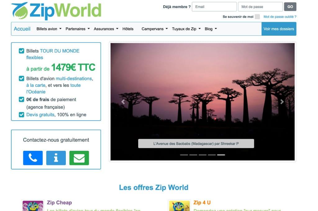 OGO-Studio - Web Design Thailand Bangkok Hua Hin - Projects - Zip-World-feat